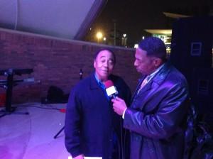 Minister Jonathan Simmons and Pastor Riley