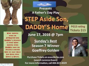 Daddys home flyer 1