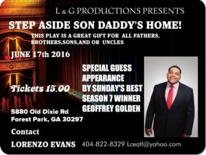 Daddys home flyer 2